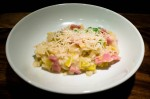 Cheesy, Salty, Snappy Risotto
