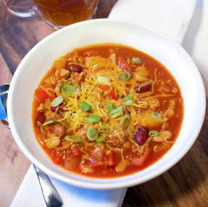 A Super Bowl of Super Chili from freshandfoodie.com @freshandfoodie