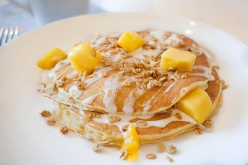 Mango Blisscakes from freshandfoodie.com @freshandfoodie