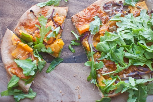 Balsamic-Glazed Butternut Squash Pizza from freshandfoodie.com @freshandfoodie
