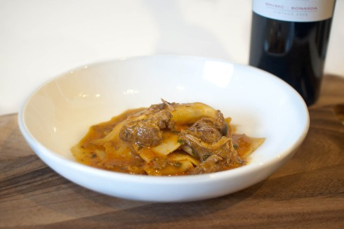 Braised Pork Pappardelle from freshandfoodie.com @freshandfoodie