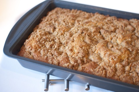 Outrageous New York-Style Crumb Cake from freshandfoodie.com @freshandfoodie