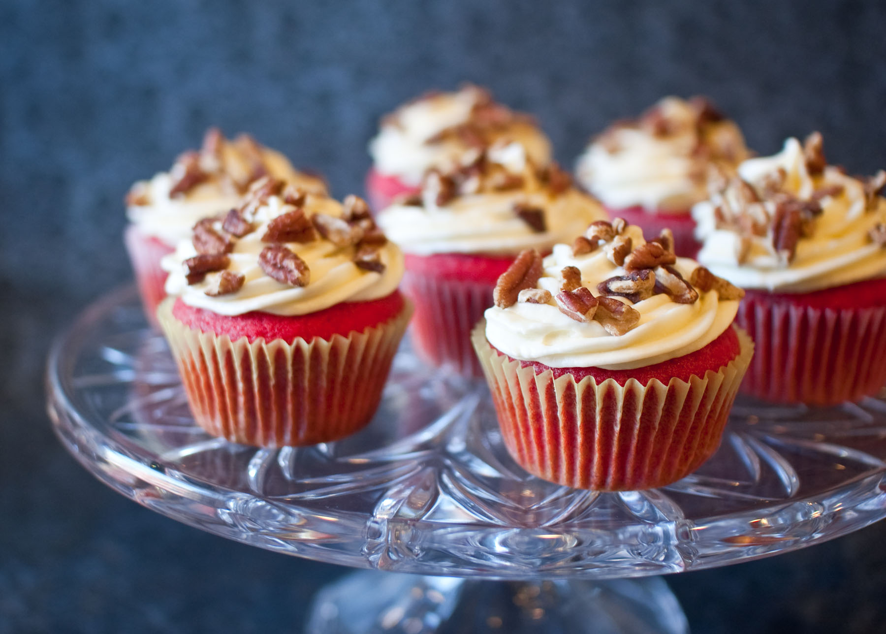 ... Velvet Cupcakes with Bourbon Cream Cheese Frosting | Fresh & Foodie