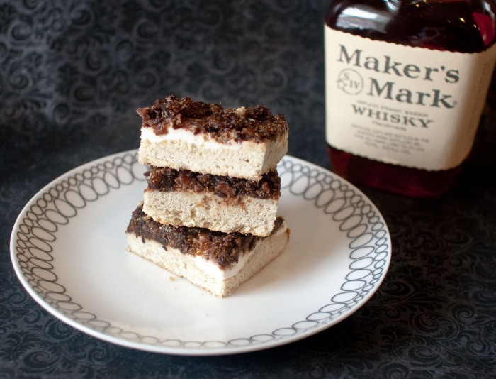 Whiskey-Soaked Fig and Cream Cheese Cookie Bars from freshandfoodie.com @freshandfoodie