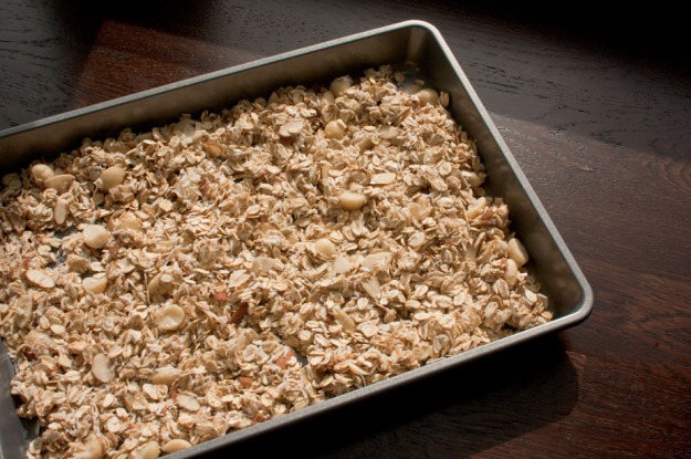 Maple Bourbon Granola from freshandfoodie.com @freshandfoodie