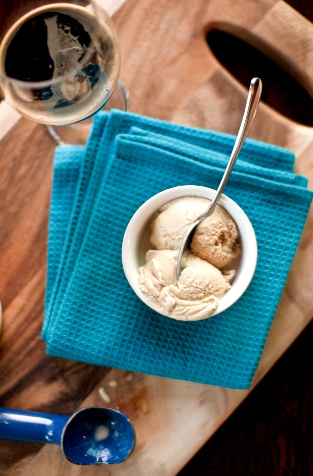 stout ice cream from freshandfoodie.com @freshandfoodie