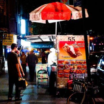 NYC street food from freshandfoodie.com @freshandfoodie