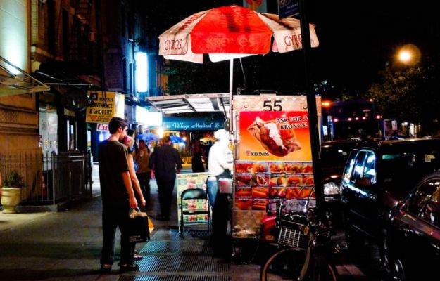 NYC street food from freshandfoodie.com @freshandfoodie