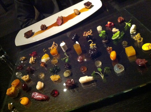 rabbit five ways at alinea via freshandfoodie.com @freshandfoodie