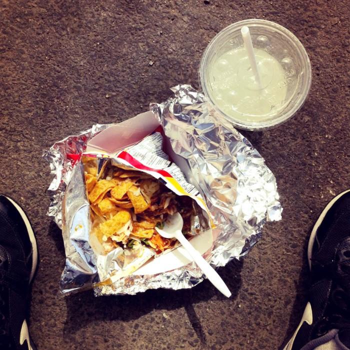 walking taco at big star via freshandfoodie.com @freshandfoodie