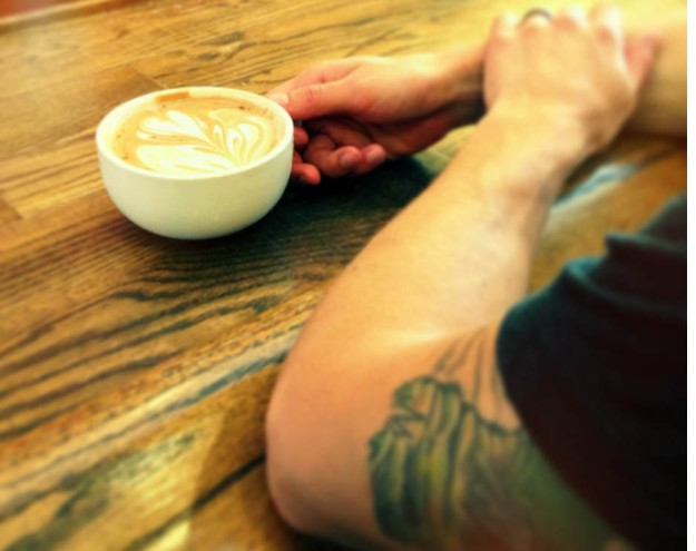 wake and bake latte from dark matter/star lounge via freshandfoodie.com @freshandfoodie