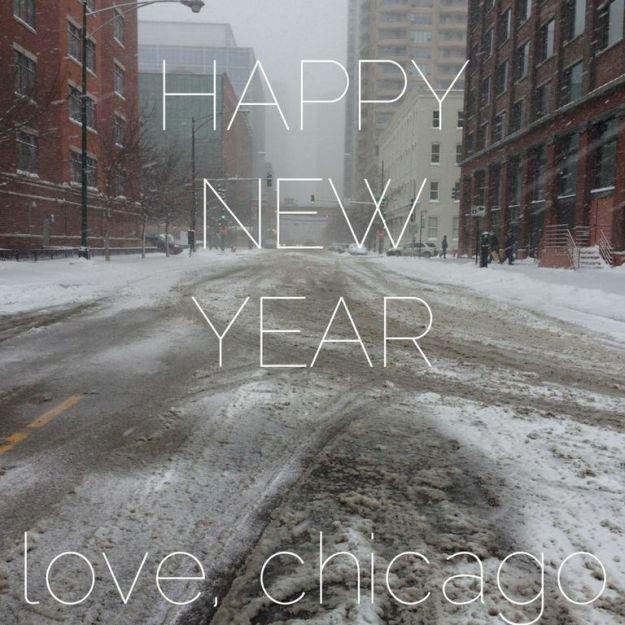 Chicago snow via freshandfoodie.com @freshandfoodie