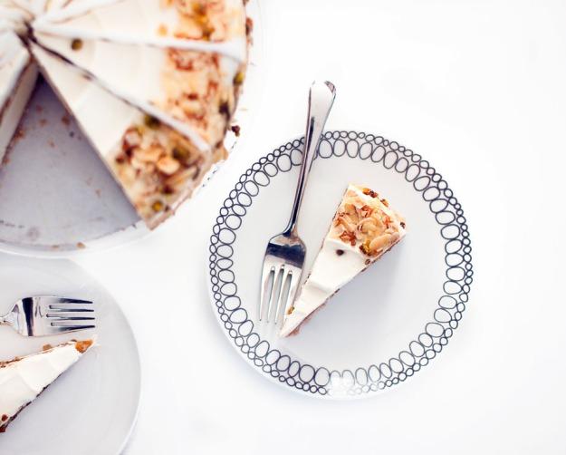 Eli's Honey Mediterranean Cheesecake  via frshandfoodie.com @freshandfoodie