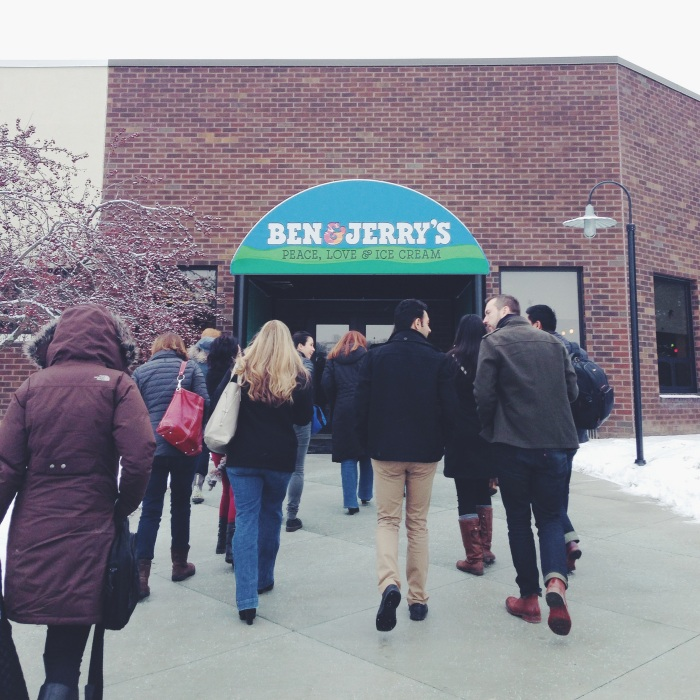Ben & Jerry's HQ from freshandfoodie.com @freshandfoodie