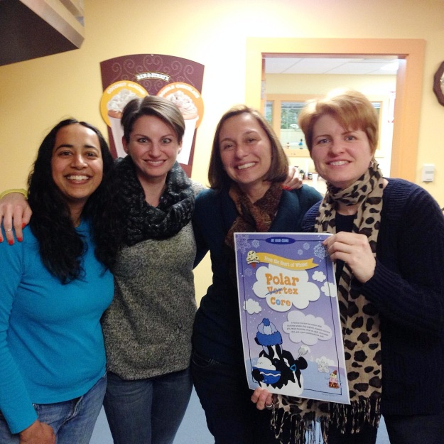 Team Polar Vortex via freshandfoodie.com @freshandfoodie