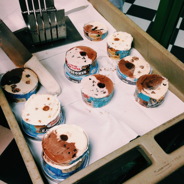 Ben & Jerry's quality control via freshandfoodie.com @freshandfoodie