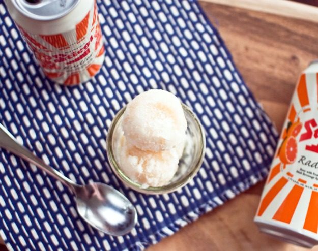Steigle Radler Sorbet from freshandfoodie.com @freshandfoodie