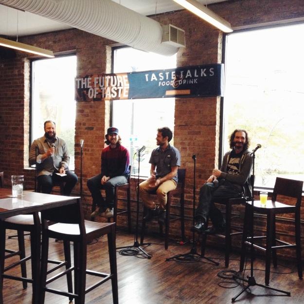 Taste Talks Wild Beers Panel via freshandfoodie.com @freshandfoodie