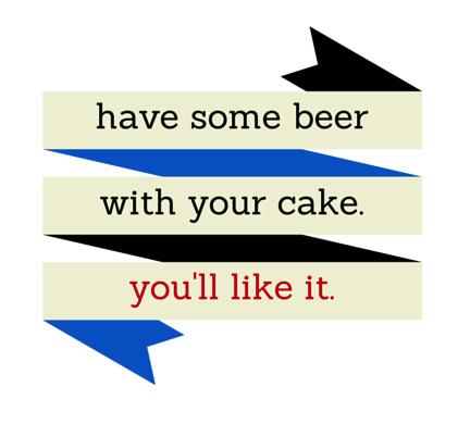 Beer cake from freshandfoodie.com @freshandfoodie